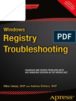 Windows Registry Troubleshooting (2015)