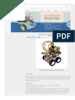 Ks0159 Keyestudio Desktop Bluetooth Mini Smart Car
