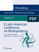 (IFMBE Proceedings 54) Franco Simini, Pedro Bertemes-Filho (Eds.)-II Latin American Conference on Bioimpedance_ 2nd CLABIO, Montevideo, September 30 – October 02, 2015-Springer