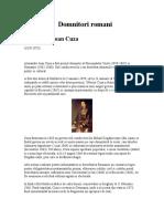37915657-Domnitori-romani.doc