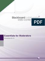 Blackboard Collaborate Web Conferencing Essentials for Moderators PDF
