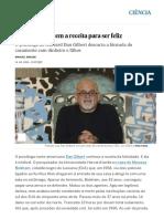 O homem que tem a receita para ser feliz _ Ciência _ EL PAÍS Brasil.pdf
