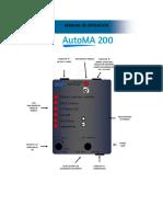 Manual AutoMA 200