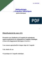 Méthodes Des Enquetes Statistiques