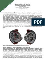 In Wheel Electric Motors AFraser ProteanV4