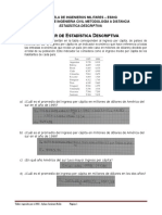 Taller de Estadistica Descriptiva 5 Al 10
