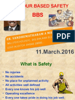 Behaviour Based Safety Modified