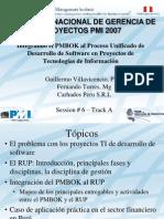 PMBOK y RUP PMI Peru Congreso 2007vf