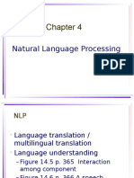 323-670 AI Chapter 4 NLP