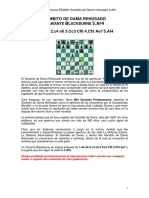 Gambito de Dama Variante 5.Af4