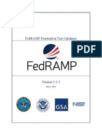 FedRAMP PenTest Guidance v 1 0