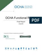 2016 OCHA Functional Review