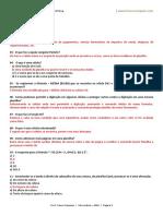 Excel- Questões de Revisão Para a Prova. Www.francosampaio.com
