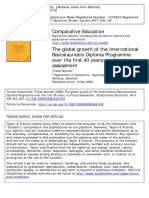 BUNNELL the Global Growth of the IB