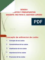 Clase 01 Costos y Presupuestos 2012 II-1