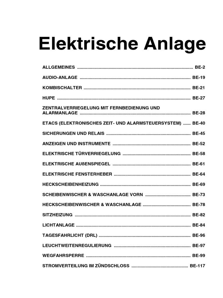 Ungewöhnlich Fahrzeugverkabelung Ideen - Elektrische Schaltplan ...