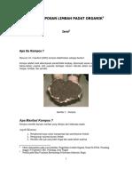 Kompos Limbah Padat Organik - Isroi