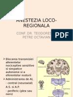 Curs 4 -Modif Anestezia Loco-regionala