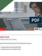 Peruvian Localizations ERP NEORA HSP SAC