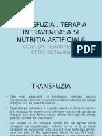 2003 Transfuzia Si Terapia Lichidiana