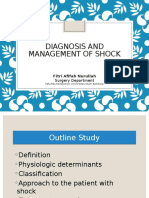 Diagnosis and Management of Shock PIPO