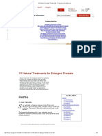 10NaturalTreatmentsforEnlargedProstate