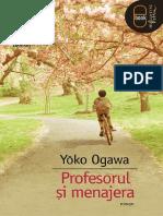 Yoko Ogawa - Profesorul si menajera .pdf