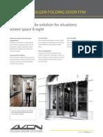 Automatic Folding Door_GILGEN FFM