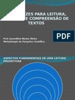 Diretrizes Para Leitura Análise e Compreenssão de Textos Científicos