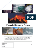 theme unit - powerful forces of nature