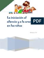 Módulo VII - La iniciación al silencio y a la oración en los niños