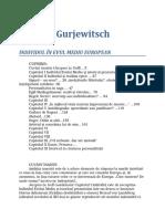 Aaron J. Gurjewitsch - Individul in Evul Mediu European