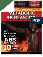 Metabolic Abs Blasters eBook