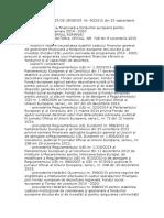 OUG 40din 23.09.2015 Privind Gestionarea Financiara a Fondurilor Europene 2014 2020