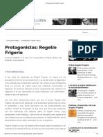 Semblanza de Rogelio Frigerio