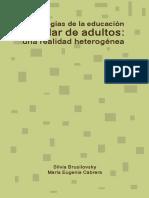 pedagogías en la educación de adultos