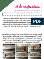 Libro Móvil Morfosintaxis Minúsculas Arasaac[290]