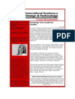 IADT Seattle April 2008 Newsletter