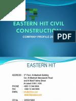 eastern hit civil const  company profile  2
