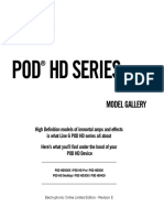 POD HD Series Model Gallery - English ( Rev E )