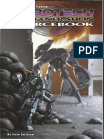 Robotech (2nd Edition) - New Generation Sourcebook