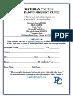 PC Cheer Clinic
