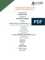 FARMACOLOGÍA Antibioticos Antiarritmicos y Anticoagulantes