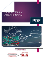 Hemostasia y Coagulación