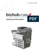 Bizhub c350 Advanced Information