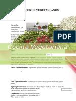 Cocina Vegetariana