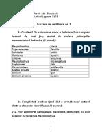 Lucrare de Verificare Nr. 1-Mihaela Oancea-Agricultura ID-An I