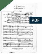 Yon, Missa Defunctis, Messe Défunts