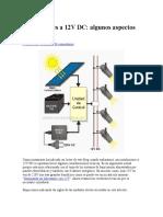 Instalaciones a 12V DC