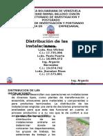 Presentacion Distribucion de Las Instalaciones